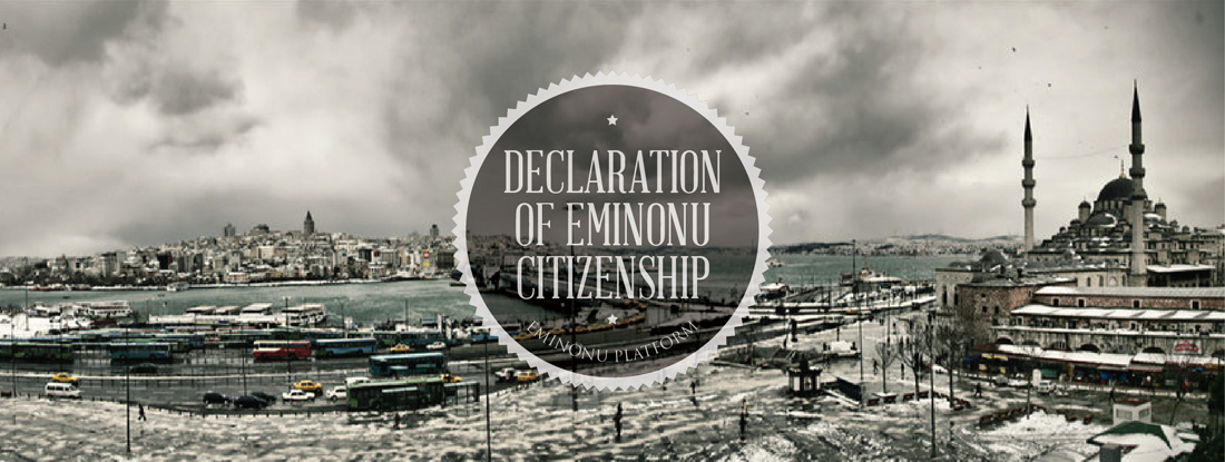 THE DECLARATION OF<br />EMINONU CITIZENSHIP