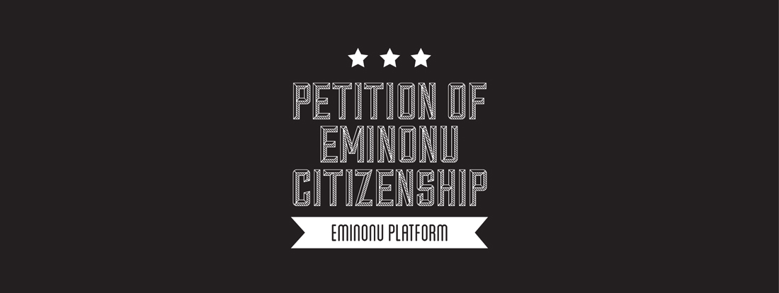 EMİNÖNÜ CITIZENSHIP<br />SUBMISSION